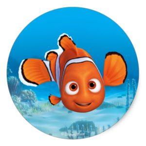 Finding Dory Nemo Classic Round Sticker