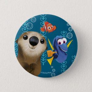 Finding Dory | Nemo, Dory & Otter Button