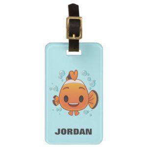 Finding Dory | Nemo Emoji Luggage Tag