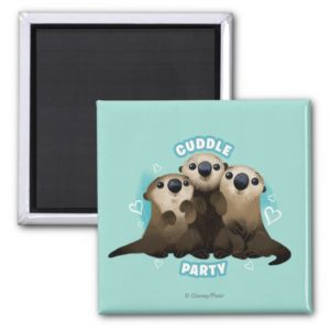 Finding Dory Otters   Cuddle Party Magnet