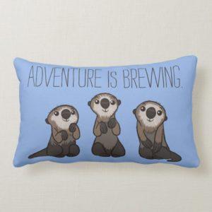 Finding Dory Otters Lumbar Pillow
