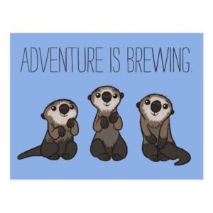 Finding Dory Otters Postcard