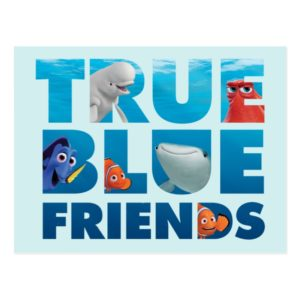 Finding Dory | True Blue Friends Postcard