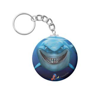 Finding Nemo   Bruce Grinning Keychain