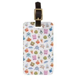 Finding Nemo Emoji Pattern Bag Tag