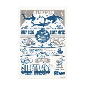 Finding Nemo | I Am A Nice Shark Canvas Print