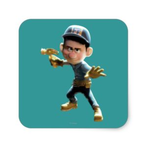 Fix-It Felix Jr. 1 Square Sticker