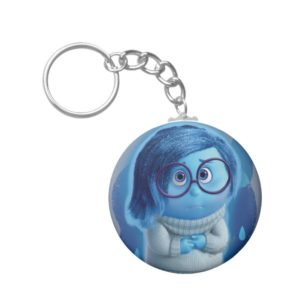 Forecast is for Blue Skies Keychain