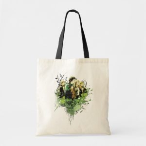 FRODO™ with Hobbits Vector Collage Tote Bag