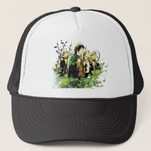 FRODO™ with Hobbits Vector Collage Trucker Hat