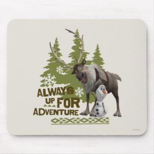 Frozen | Always up for Adventure Mouse Pad