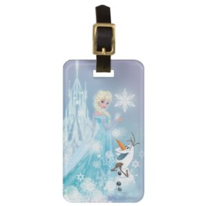 Frozen | Elsa and Olaf - Icy Glow Luggage Tag