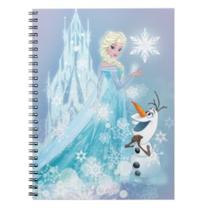 Frozen | Elsa and Olaf - Icy Glow Notebook