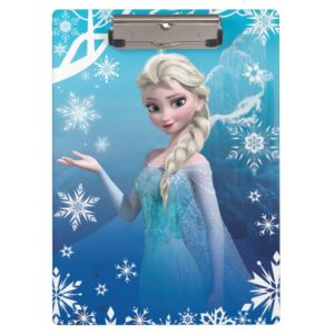 Frozen | Elsa Over the Shoulder Smirk Clipboard