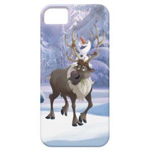 Frozen | Olaf sitting on Sven Case-Mate iPhone Case