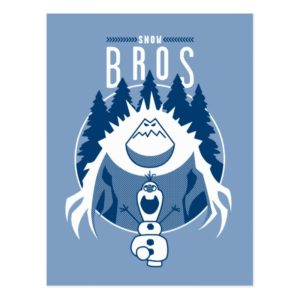 Frozen | Snow Bros Postcard