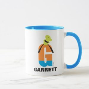 G is for Goofy | Add Your Name Mug