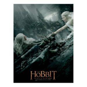 Gandalf and Galadriel Reaching Postcard