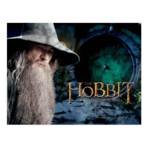 Gandalf at BILBO BAGGIN™'s House Postcard