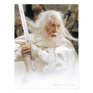 GANDALF™ Fight with Sword Postcard