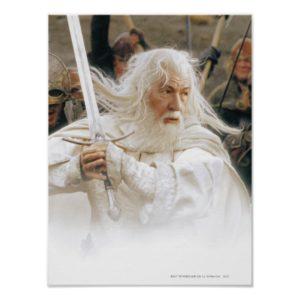 GANDALF™ Fight with Sword Poster