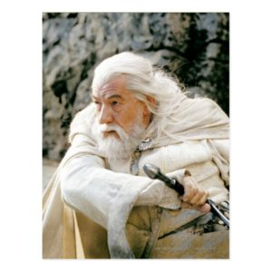 GANDALF™ the White with Sword Postcard