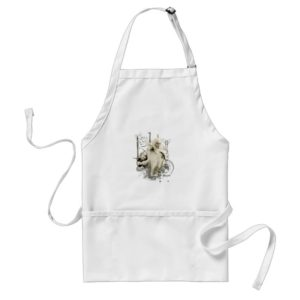 GANDALF™ with Sword Vector Collage Adult Apron