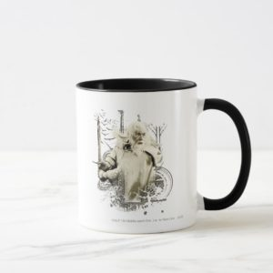 GANDALF™ with Sword Vector Collage Mug