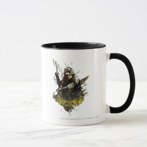 GIMLI™ With Ax Vector Collage Mug