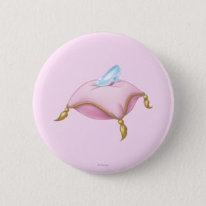 Glass Slipper Pinback Button