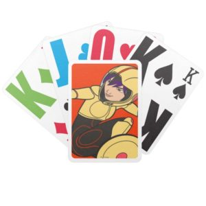 Go Go Tomago Yellow Suit Bicycle Playing Cards