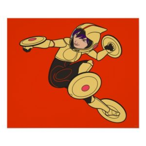 Go Go Tomago Yellow Suit Poster