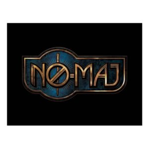 Gold & Marble NO-MAJ™ Badge Postcard