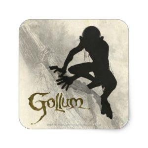 GOLLUM™ Concept Sketch Square Sticker
