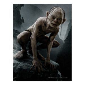 GOLLUM™ on a Rock Postcard