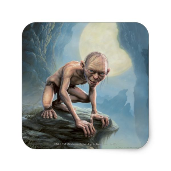 GOLLUM™ with Moon Square Sticker