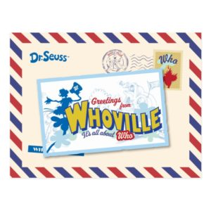 Greetings from Whoville Postcard