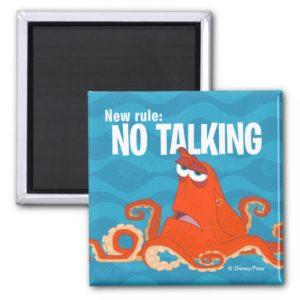 Hank   New Rule...No Talking Magnet