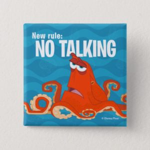 Hank | New Rule...No Talking Pinback Button