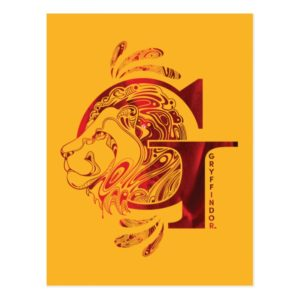Harry Potter | Aguamenti GRYFFINDOR™ Graphic Postcard