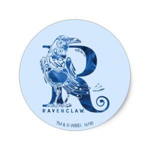 Harry Potter | Aguamenti RAVENCLAW™ Graphic Classic Round Sticker
