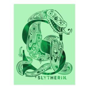 Harry Potter | Aguamenti SLYTHERIN™ Graphic Postcard