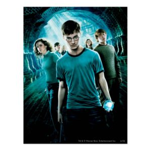 HARRY POTTER AND THE ORDER OF THE PHOENIX™ Blue Postcard