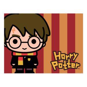 Harry Potter Cartoon Character Art Postcard