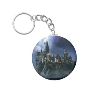 Harry Potter Castle | Moonlit Hogwarts Keychain