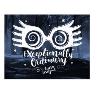 Harry Potter | Exceptionally Ordinary Postcard