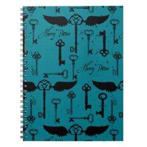 HARRY POTTER™ Flying Keys Pattern Notebook