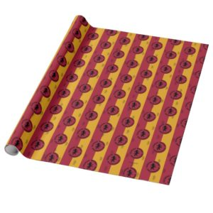 Harry Potter   GRYFFINDOR™ House Traits Graphic Wrapping Paper