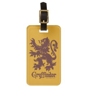Harry Potter | Gryffindor Lion Graphic Luggage Tag