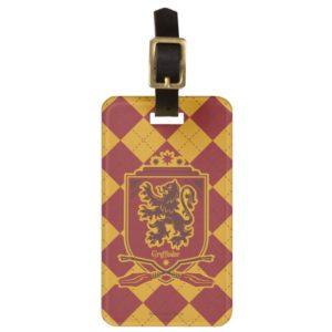 Harry Potter | Gryffindor QUIDDITCH™  Crest Luggage Tag